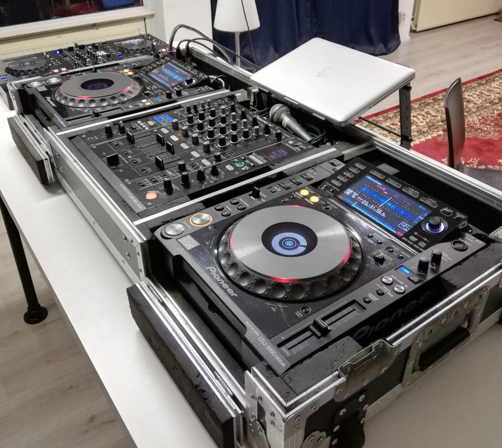 Nexus DJ set Pioneer